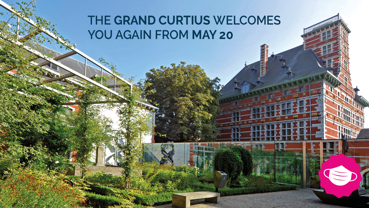 The Grand Curtius Museum opens its doors again to visitors on Wednesday 20 May !